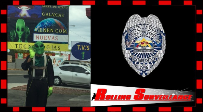 Thank you to North Las Vegas PD – Rolling Surveillance Training – Blending into Your Environment