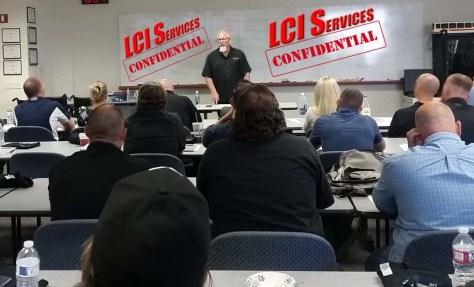 Orange County Sheriff Department Rolling Surveillance Classroom Training
