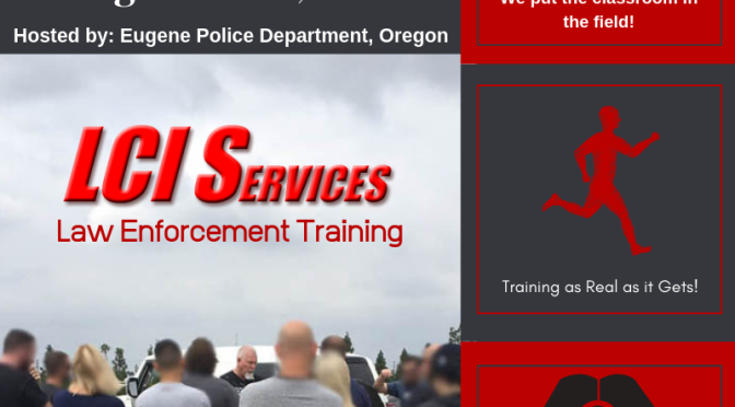 The best in physical surveillance. Rolling Surveillance Law Enforcement Training in Eugene Oregon, August 2019. Training as Real as it Gets!
