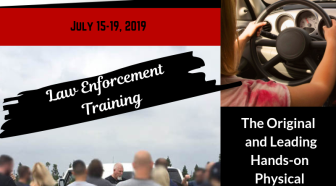 San Luis Obispo, CA Rolling Surveillance Law Enforcement Training July 2019