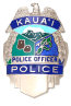 Kauai Police Badge